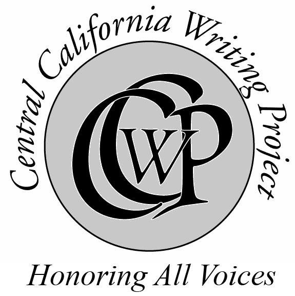 Logo for the Central California Writing Project, UCSC: Honoring All Voices